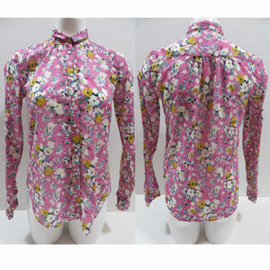 Holding Horses top 0 Isla button up floral